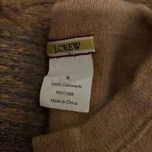 J crew Cashmere sweater size Small